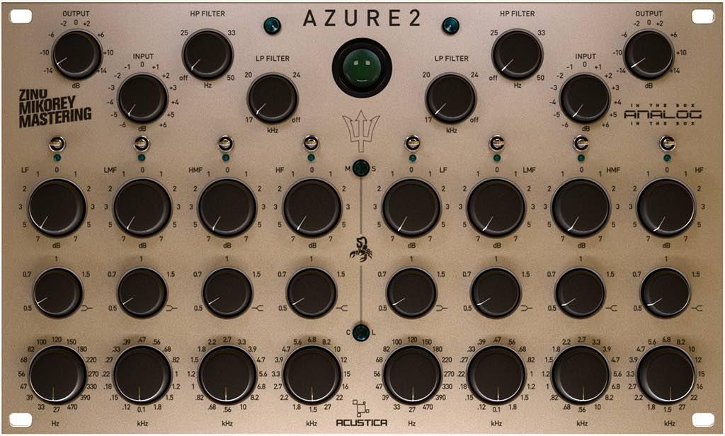Azure2, l'eq per mastering firmato Acustica Audio - Audiofader