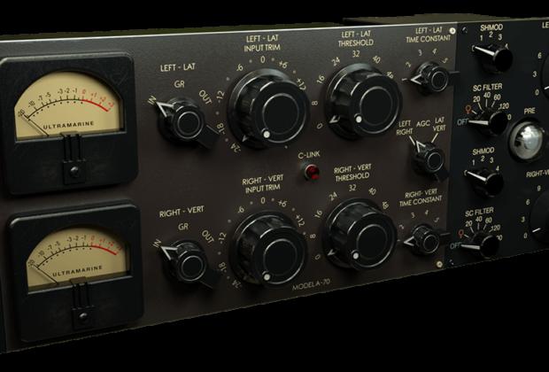Acustica Audio Ultramarine4 bundle channel strip virtual daw plug-in software eq comp reverb audiofader