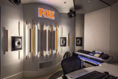 FOX studi tv intervista pro audio audiofader