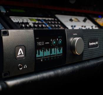 Apogee Symphony Mk II interfaccia audio dante ip audio over audiofader