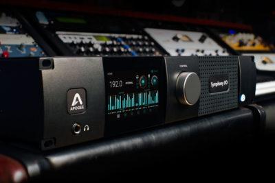 Apogee Symphony Mk II interfaccia audio dante ip audio over audiofader