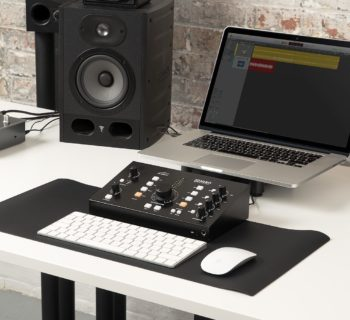 Audient Nero monitor controller hardware studio pro leading technologies audiofader