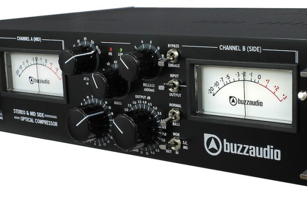 Buzz Audio SOC-M comp opto ottico mastering outboard hardware analog audiofader