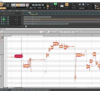 Celemony Melodyne ARA2 software plug-in audio virtual cakewalk bandlab audiofader