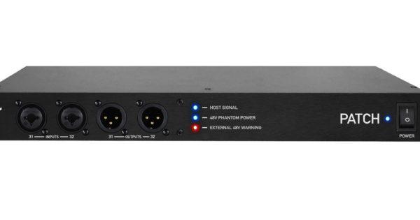 Flock Audio Patch patchbay hardware analog digital test studio pro audiofader