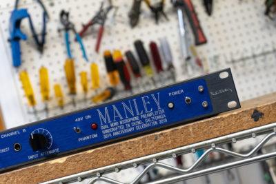Manley Dual Mono xxx ltd ed hardware analog outboard rack mic audio pro audiofader