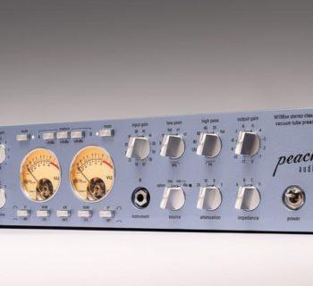 Peach Audio M196sx hardware outboard pre tuba valvolare audiofader