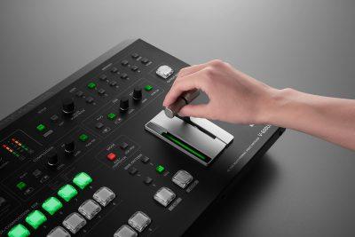 Roland MiR 2019 eventi fiera music inside video AV pro audiofader