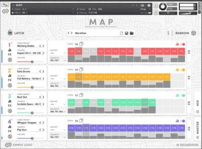 Soundiron sample logic Modern Animated Percussion sample library virtual drum machine audiofader