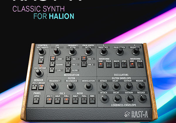 Steinberg Rast-A virtual synth instrument audiofader