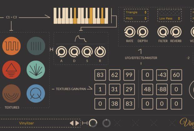Thenatan Vinylizer plug-in audio virtual software mix daw audiofader