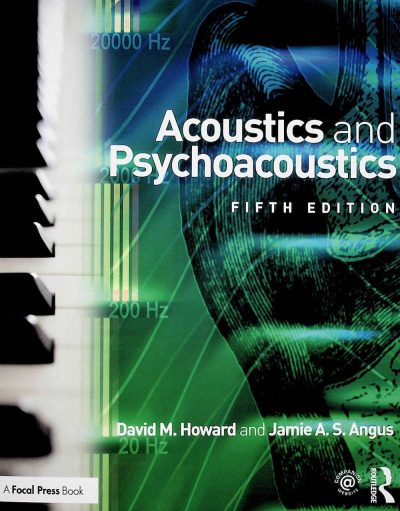 libro acoustics and psycoacoustics acustica audiofader