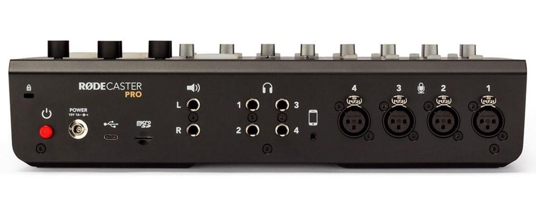 røde rødecaster pro test broadcast midi music audiofader