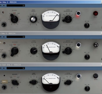 Abbey Road RS124 plug-in audio daw virtual mix software itb test audiofader