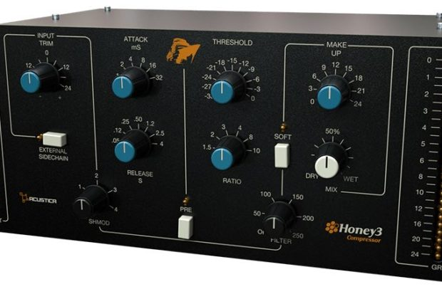Acustica Audio Honey3 bundle plug-in virtual mix rec master processing itb daw software audiofader