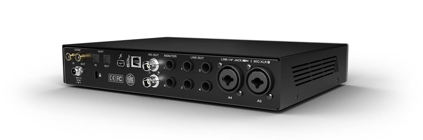 Antelope Audio Discrete 4 Synergy core interfaccia audio pro studio hardware digital audiofader