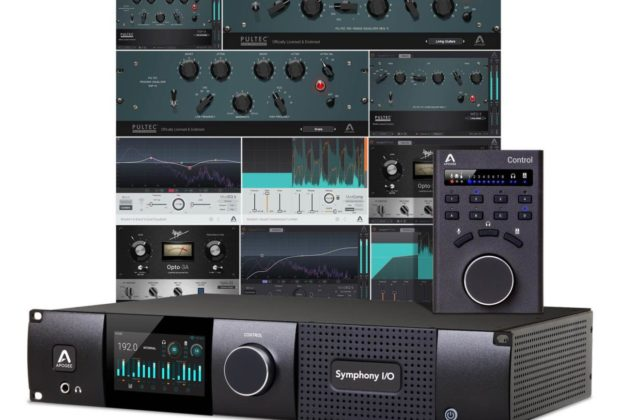Apogee promo summer 2019 Symphony I/O Mk II Thunderbolt interfaccia audio studio pro plug-in virtual soundwave