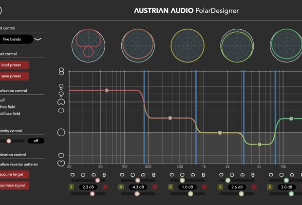 Austrian Audio PolarDesigner plug-in audio software virtual daw fx mic oc818 audiofader