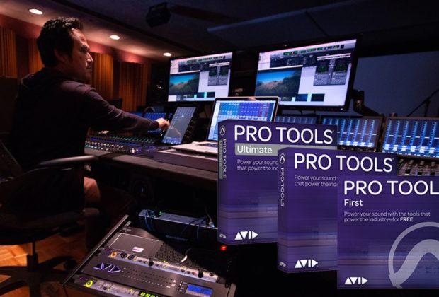 Avid Pro Tools 2019 software daw virtual mix processing rec soundwave audiofader