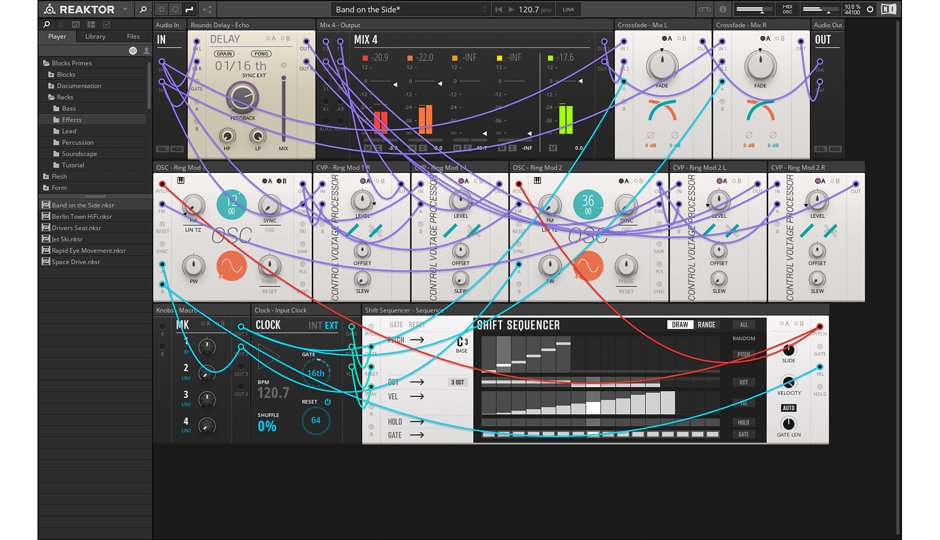 Reaktor 6.3 NI Komplete 12 bundle native instruments software plug-in virtual instruments midi music audiofader