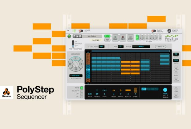 Propellerhead Reason PolyStep Sequencer daw plug-in audio software fx audiofader