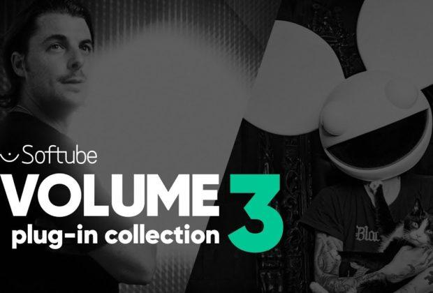 Softube Volume 3 plug-in bundle virtual instrument audio pro mix producer software daw audiofader