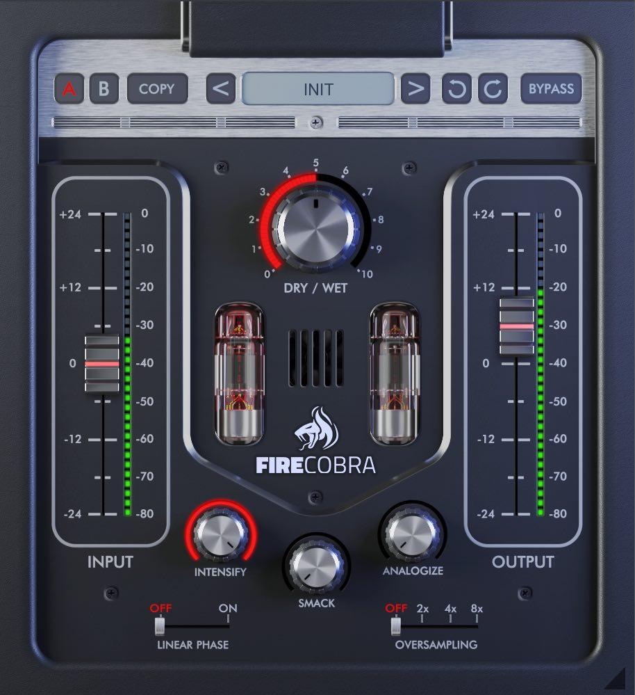 United Plugins FireCobra plug-in audio pro software daw virtual mix itb vst au aax audiofader