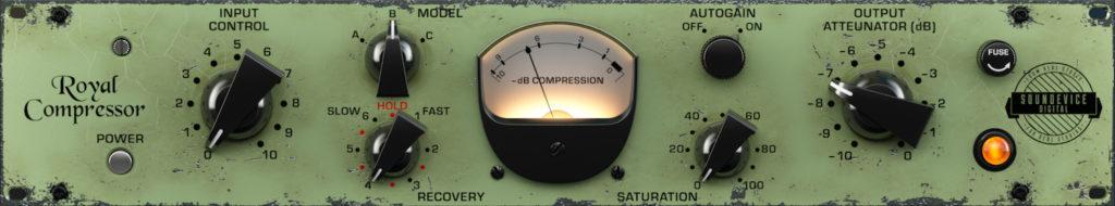 United Plugins Royal Compressor plug-in audio pro software daw virtual mix itb vst au aax audiofader