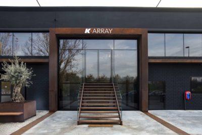 k-array seminario live array line eventi exhibo mic strumenti musicali