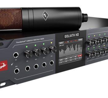 Antelope Audio Goliath HD | Gen 3 interfaccia hardware studio pro fpga audiofader