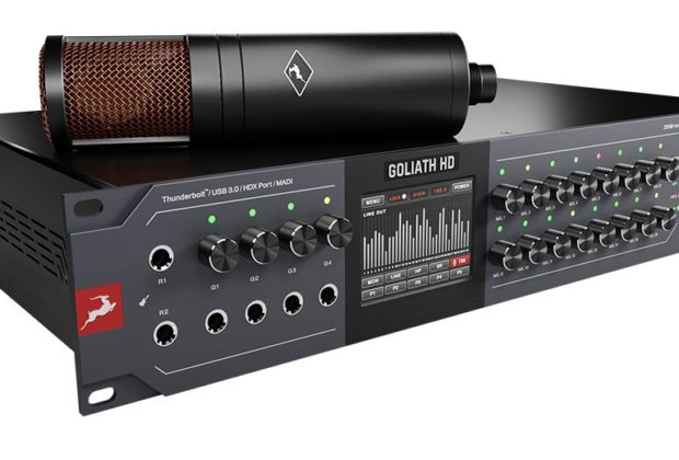 Antelope Audio Goliath HD | Gen 3 interfaccia hardware studio pro fpga audiofader