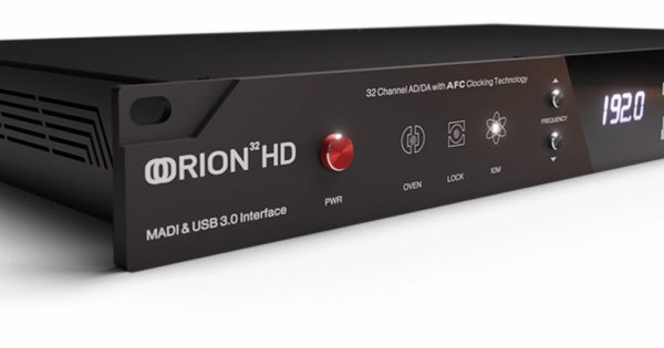 Antelope Audio Orion 32 HD | Gen 3 interfaccia pro studio hardware audiofader