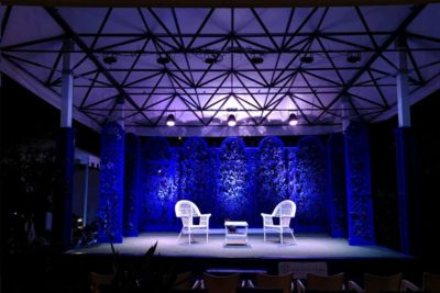 Exhibo Lungo il tevere eventi live qsc allen&heath sennheiser pro audio audiofader