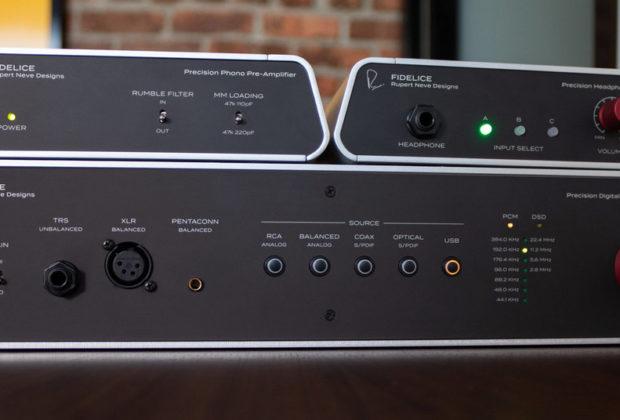 Fidelice precision headphone amp phono pre converter rupert neve designs hardware outboard hi fidelity home audiofader