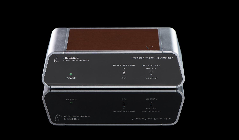 Fidelice precision phono pre rupert neve designs hardware outboard hi fidelity home audiofader