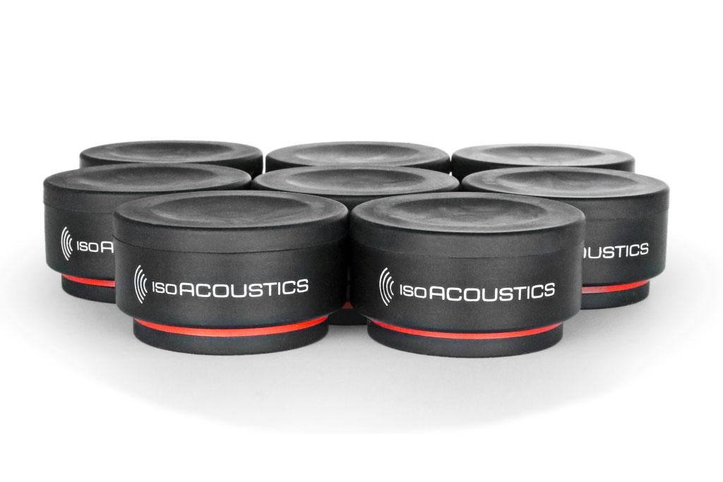 IsoAcoustics ISO Puck mini acustica speaker studio pro monitor audiofader