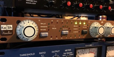 Kush Audio UBK Fatso hardware analog comp studio pro audio audiofader