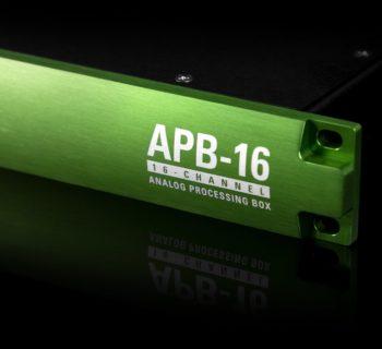 McDSP APB-16 hardware analog ibrido studio pro plug-in audiofader
