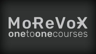 MoReVoX OneToOne corso pro audio mix mastering studio audiofader