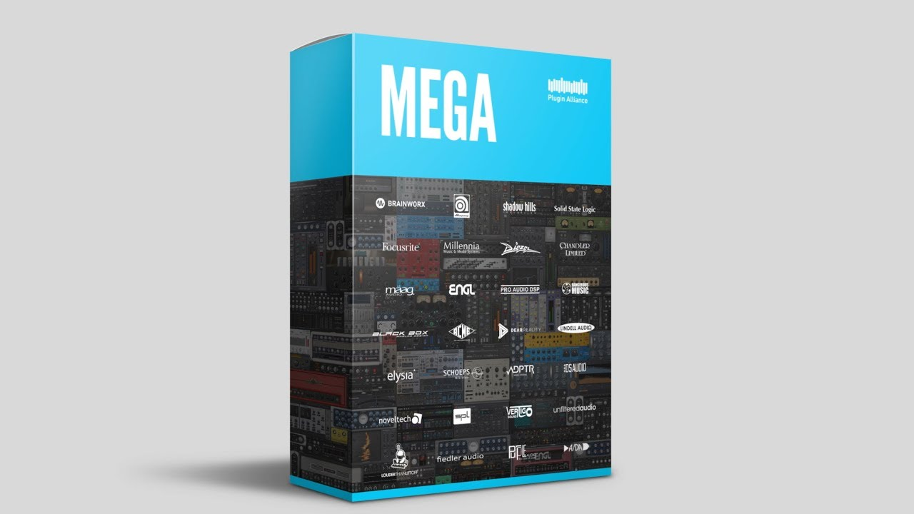 Plugin Alliance Mega Bundle plug-in software daw itb mix producer mastering audiofader