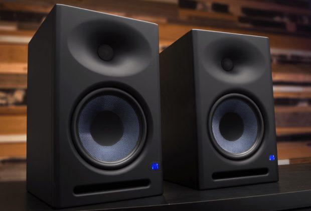 PreSonus Eris E8 XT E5 studio monitor pro home audio midi music audiofader