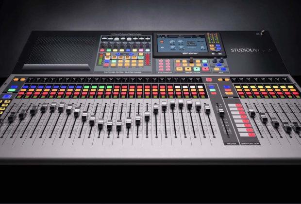 PreSonus StudioLive 64s mixer hardware plug-in audio live midi music audiofader