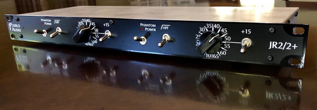 Pueblo Audio JR22+ outboard analog rack hardware pre audiofader
