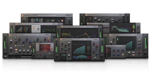 SSL Duende Native bundle plug-in audio softaware daw test audiofader