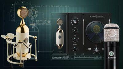 Soyuz Townsend Labs modeling mic studio pro software plug-in eko music group audiofader