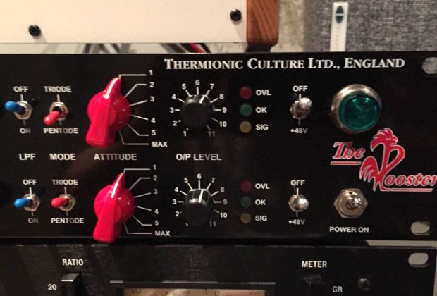 Thermionic Culture The Rooster pre eq analog hardware outboard test audiofader