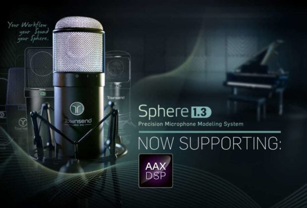 Townsend Labs Sphere update AAX DSP mic hardware software l22 audiofader