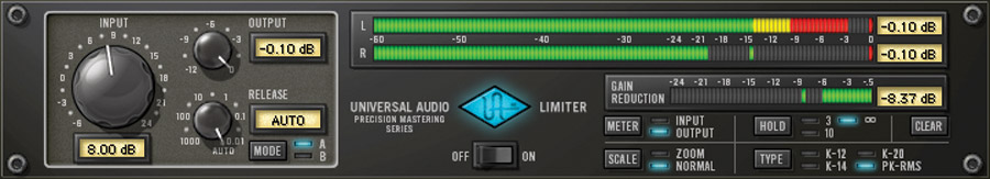 Universal Audio UAD Precision Limiter Tutorial Mix Voce mixing itb software virtual plug-in audiofader