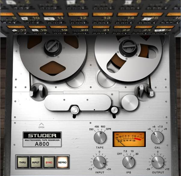 Universal Audio UAD Studer A800 Tutorial Mix Voce mixing itb software virtual plug-in audiofader