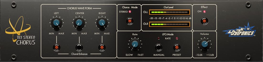 Universal Audio UAD Tri Stereo Chorus Tutorial Mix Voce mixing itb software virtual plug-in audiofader